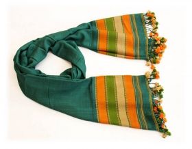 Decoratiuni & Cadouri Indian wool scarf, 200cm - BZ-44-6