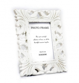 Rama Foto  Sparkle White Photo Frame