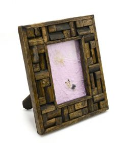Rama foto 2 Ingerasi - LEV-5639 Wood Photo Frame - T16-PS35RF