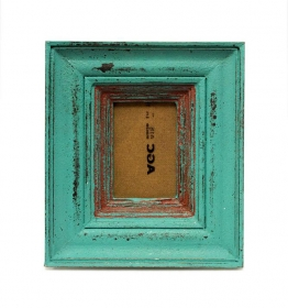 Decoratiuni & Cadouri Wood Photo Frame - T16-TG7OG-turquoise