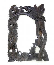 Rama pentru oglinda, finisaj rustic Rama oglinda Thai sculptata – T16-OG1