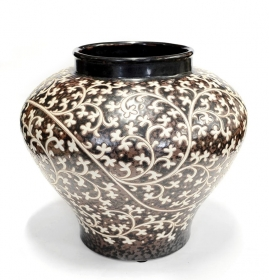 Decoratiuni & Cadouri Painted ceramic vase - T16-P055V-1