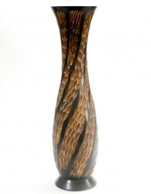 Vaze ceramica, lemn si sticla Vaza Thai din lemn - T16-TV2-2
