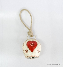 Decoratiuni & Cadouri Bell With Red Heart
