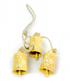 Decoratiuni & Cadouri 3 Yellow Bells Bead