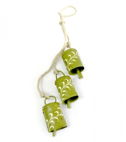 Decoratiuni & Cadouri 3 Green Bells Bead