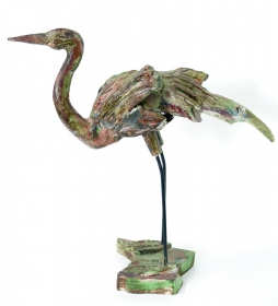 Decoratiuni Casa  Wood statuette BIRD