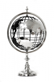 Suport stilou, Elefant - T16-CUT01 Silver metal Globe
