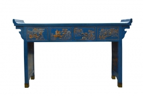 Camera de zi LIEN Chinese painted sideboard