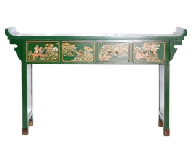 Camera de zi  LIAN Chinese painted sideboard