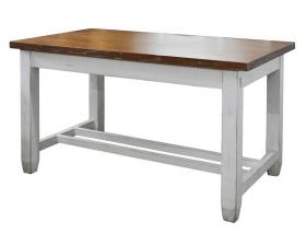 Scaun de bar din lemn si piele Masa Provence din lemn