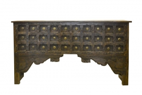 Camera de zi Indian solid wood console table, Antique - RAC17-5-4