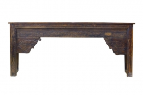 Camera de zi VRINDA Indian solid wood console table, Antique
