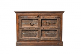 Comode si Console Comoda AMRITA din lemn masiv, Antique