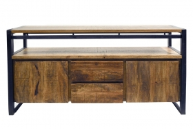 Camera de zi  NIDHI solid wood TV cabinet