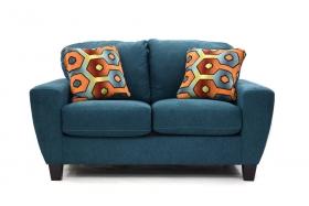 2 seats Sofa SAGEN blue