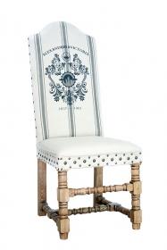 Scaun de bar din lemn si piele Scaun Alexandrina Victoria
