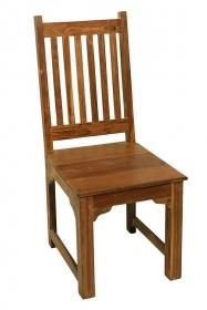 Scaun din piele REGIZOR Scaun din lemn masiv