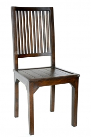 Scaun imbracat in material textil - U-SC Solid wood chair