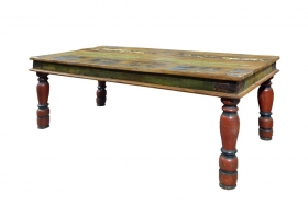 Camera de zi  ESHA Indian solid wood coffee table, Antique
