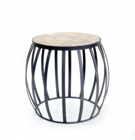 Mobilier RAHI Solid wood Stool-Table