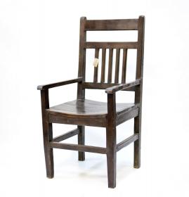 Scaun din piele REGIZOR  Scaun AYAN din lemn masiv