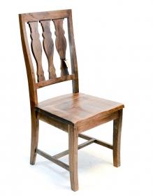 Scaun din piele REGIZOR  Scaun SHAAN din lemn masiv