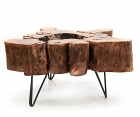 Camera de zi  YUNI Solid wood coffee table