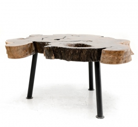 Camera de zi  MELISA Solid wood coffee table