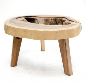 Camera de zi DELLA Solid wood coffee table