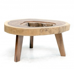 Camera de zi HANA Solid wood coffee table