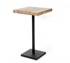 Masute Cafea teak  wood and metal Table