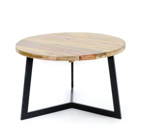 Camera de zi Teak  TIARA -B  wood and metal Table
