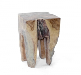 Camera de zi Solid wood RIYANTO  stool-table