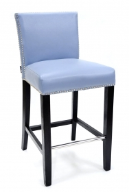 Bar din lemn si trestie impletita  Leather bar stool - VN-28276