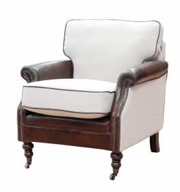 Fotoliu piele KEEBLE WING Armchair William