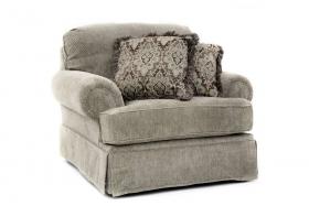 Fotoliu textil PUTTY   PLATINUM  Armchair textile